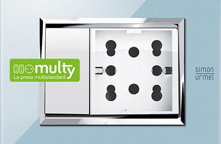 Multy, la presa multistandard.